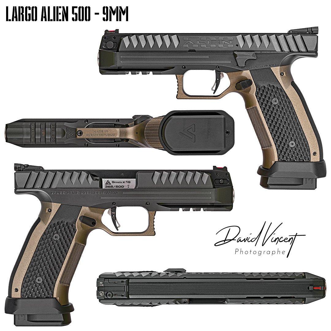 Largo Alien firearms pistol