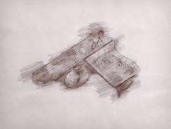 Pencil-sketch, Faites photographier vos armes – Photographier mes armes et en faire une oeuvre d'art – Photos de mes armes